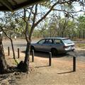 Car at the Info Center in Litchfield National Park
