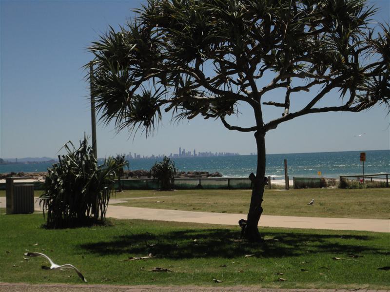 Surfers paradise skyline depuis Coolangatta
