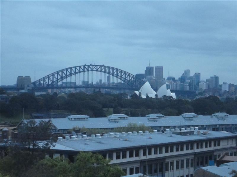View from the 'kanga house backpacker'