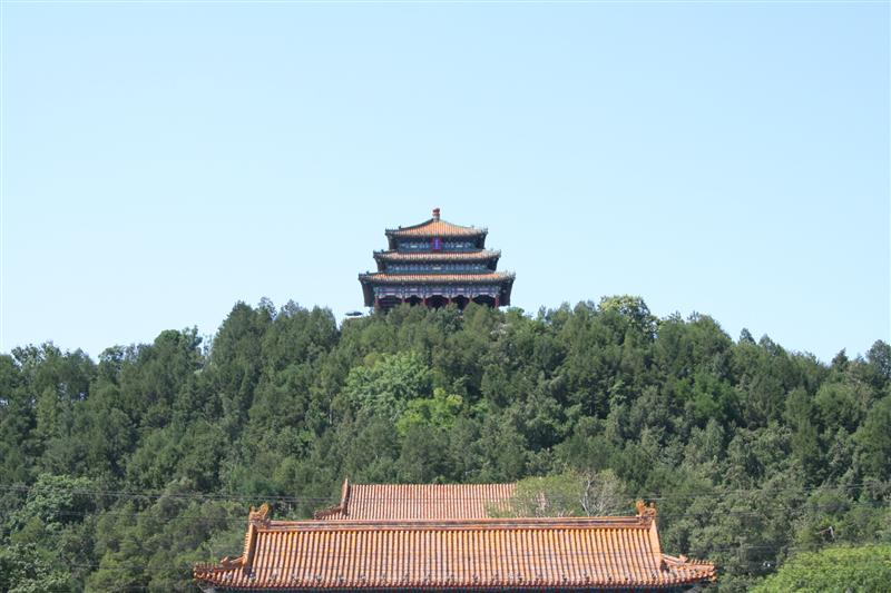 view after exiting forbidden city