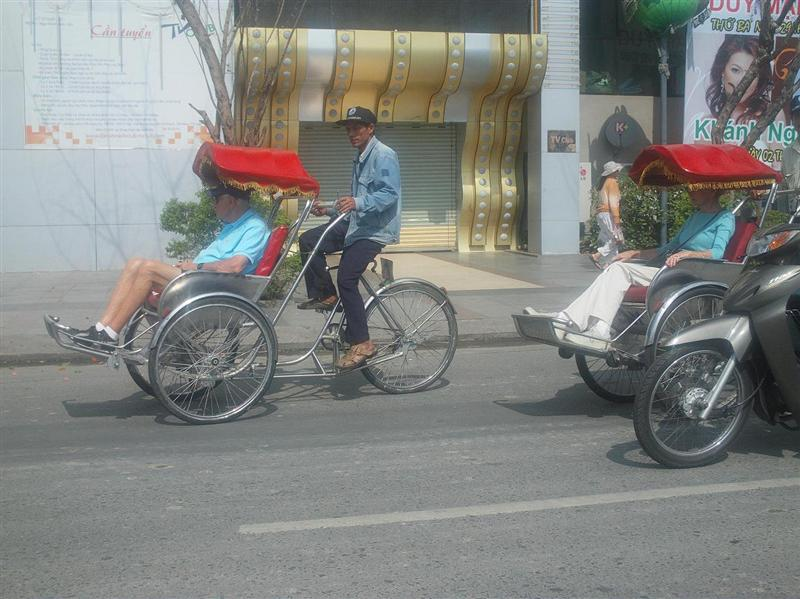 Pedicab in Saigon