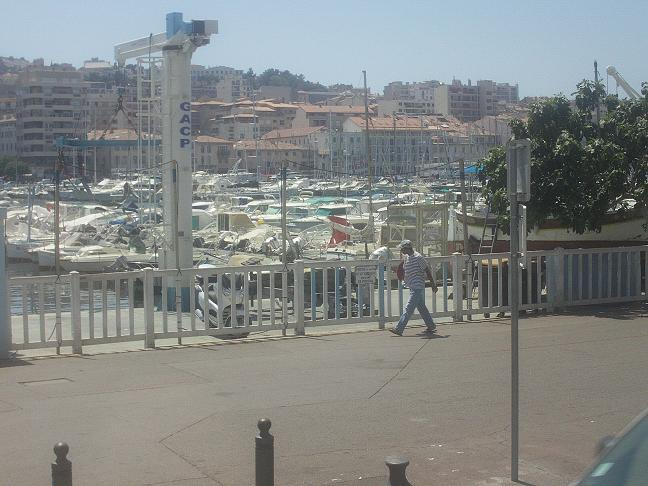 Boats in old port of Marseille