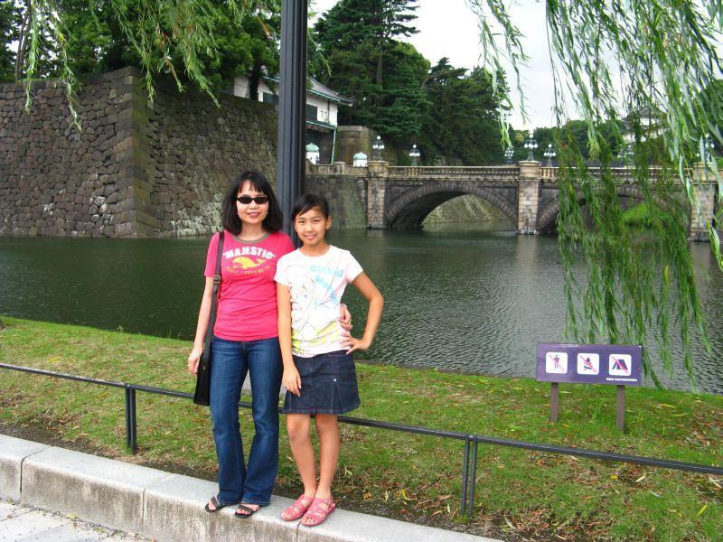 Double-bridge Nijubashi - Imperial Palace