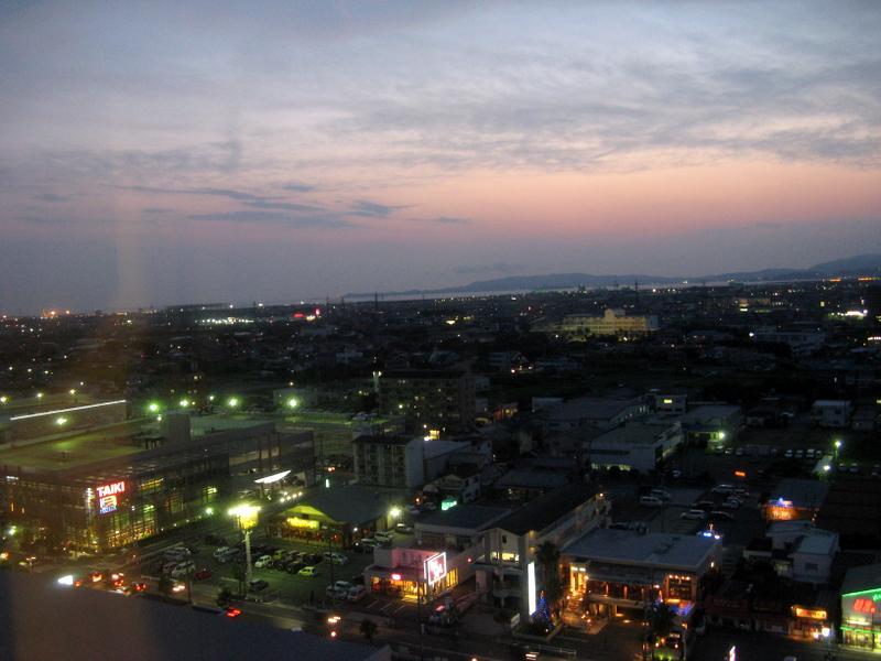 Toyohashi at Night