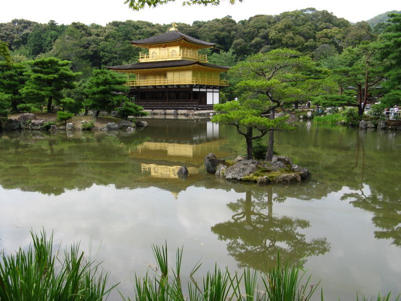 Golden Pavillion on Mirror Pond