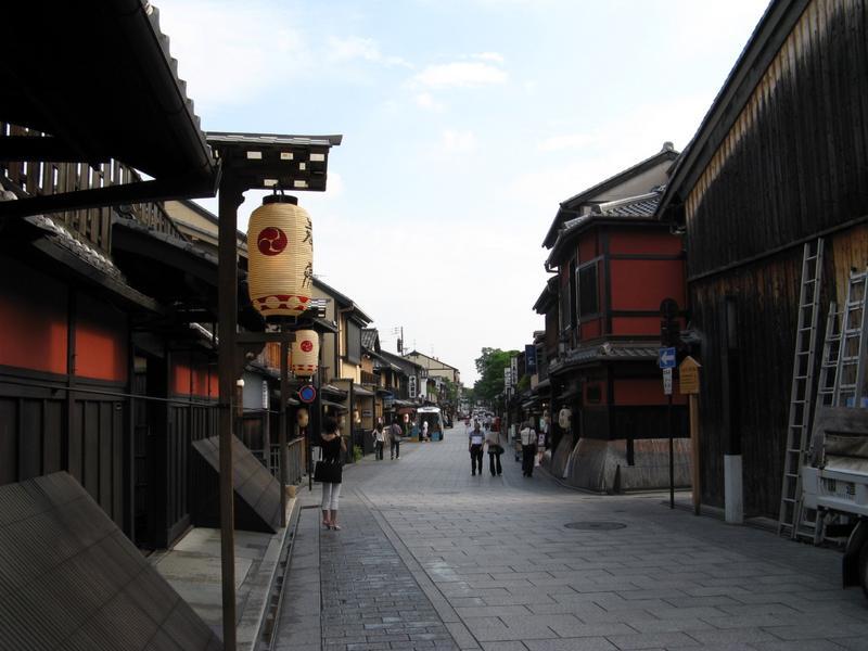 "Gion District - (as in ""Memoirs of a Geisha"")"