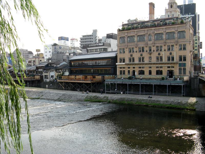 Traditional Tea Houses on the Kamo River