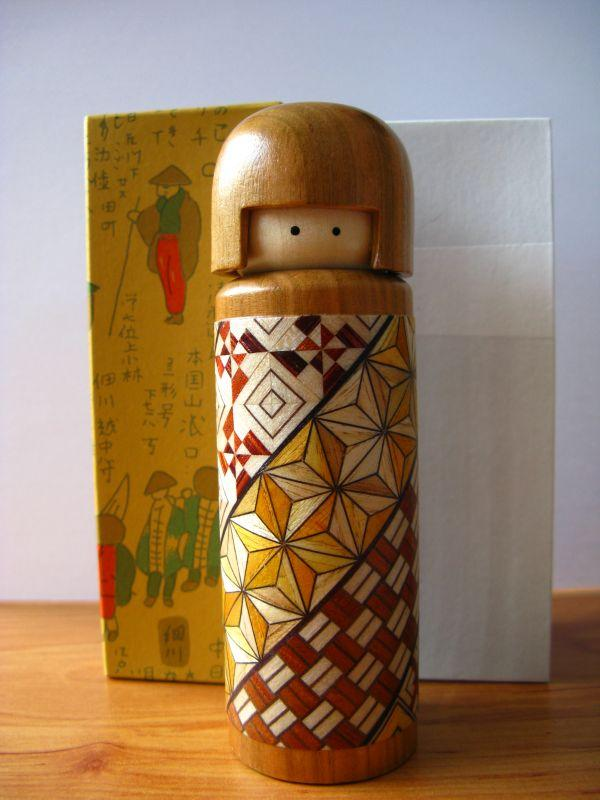 Marquetry Craft : Hakone Doll