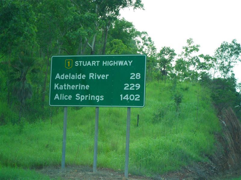 229 Km to Katherine