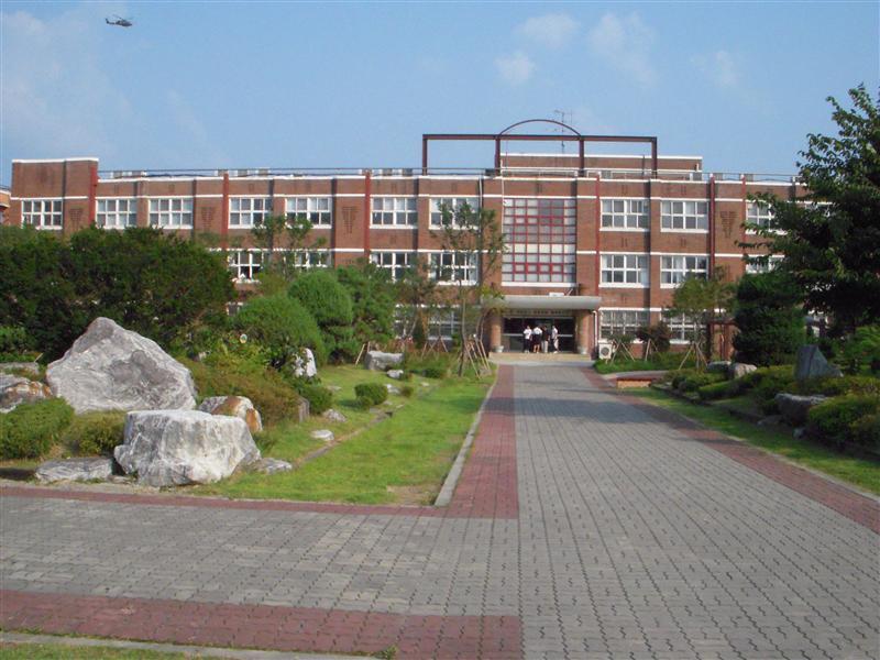 Nam Mun Middle School, where I teach