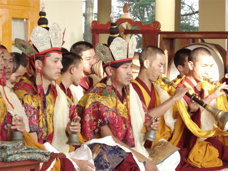 Buddhist Ceromony, McLeod Ganj
