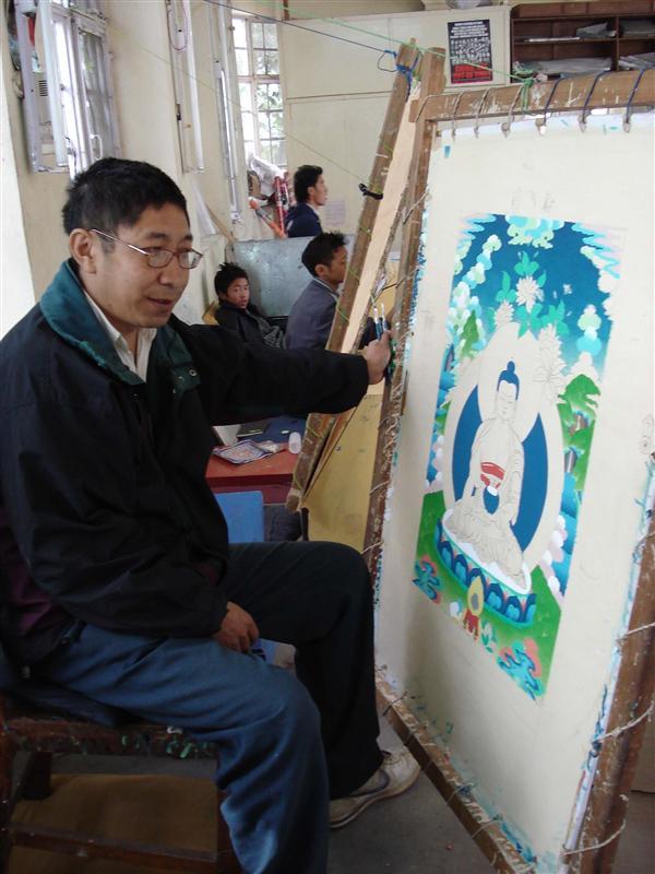 Painting master, Norbulingka