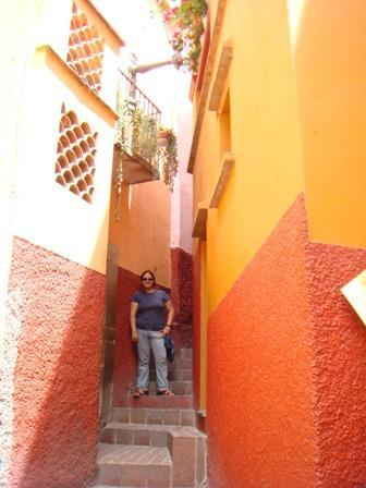 el callejón del beso, guanajuato, México