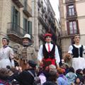 gigantes en plaza Sant Jaume I