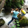 Megan & Christina's river crossing