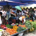 vegetable market...very similar to the market I buy my veggies at in Quito