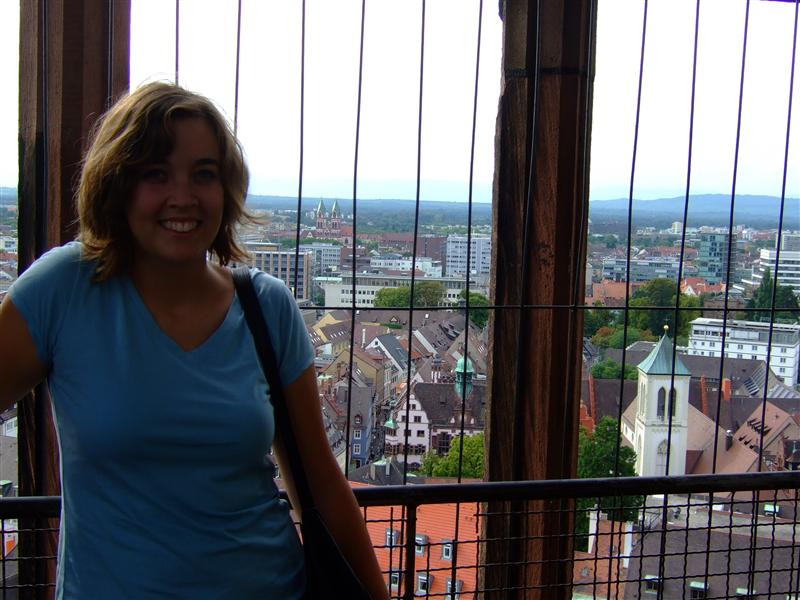 me on top of the Turm