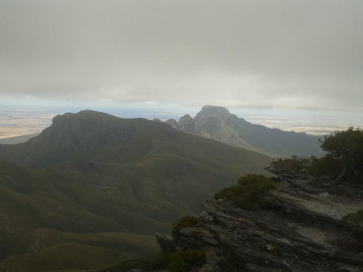 Stirling Ranges from Bluff Knol