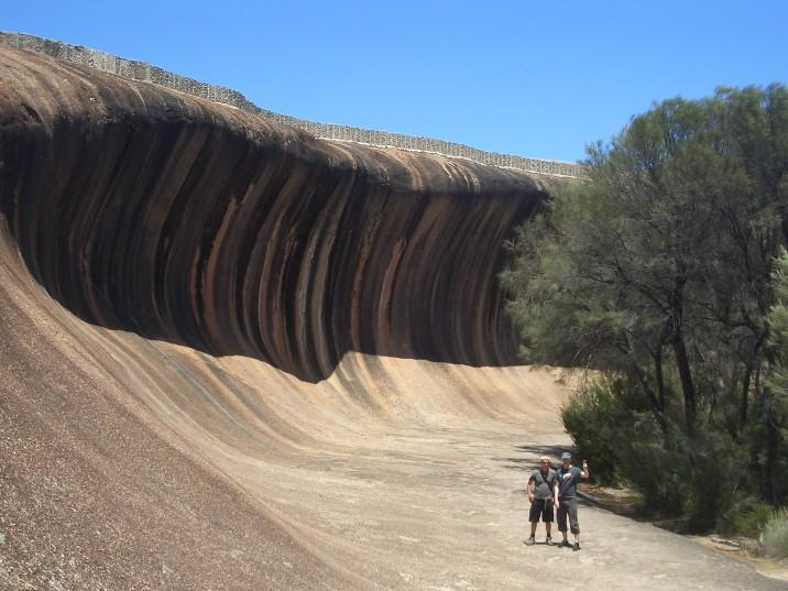 Me and Bob at wave rock