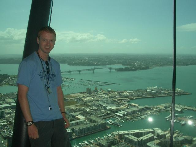 Me at the Sky tower