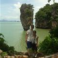 K&T at James Bond Island