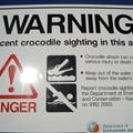 Our First Croc Warning Sign