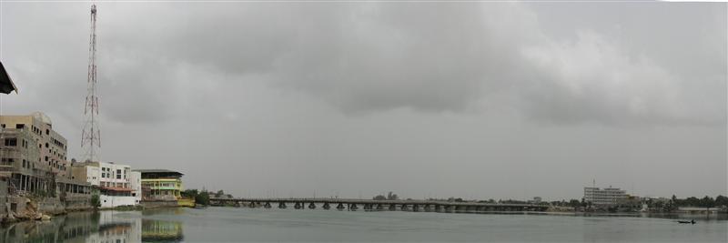 Bridge over Lagoon de Cotonou