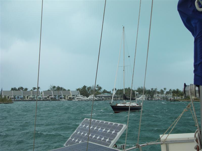 Windy Boxing day in the Bahamas