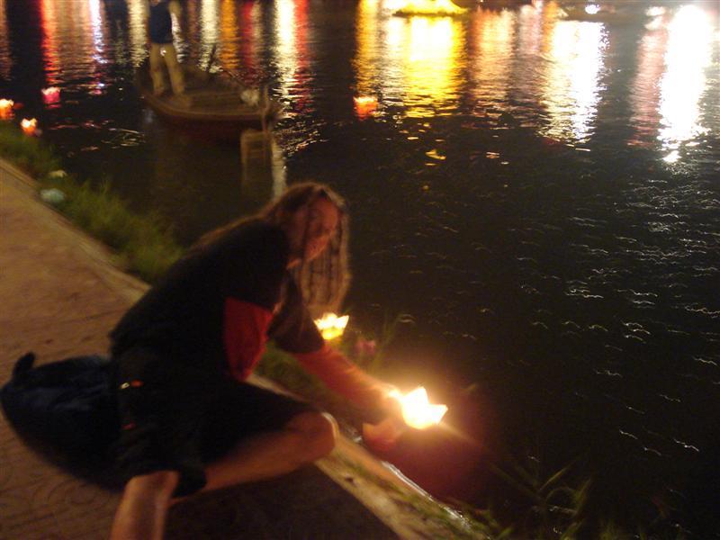 Me sailing lantern