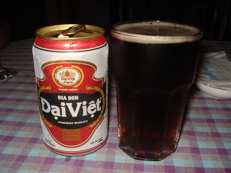 Vietnamese dark beer