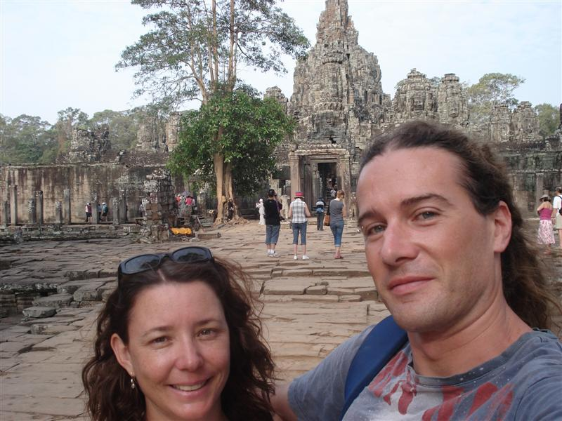 In front of Bayon