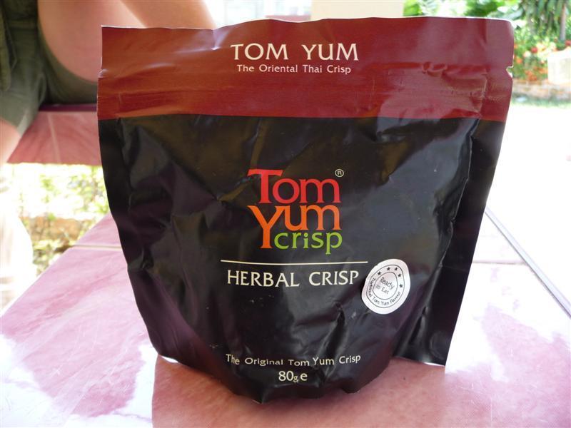 Tom Yum Crisps - delicious!