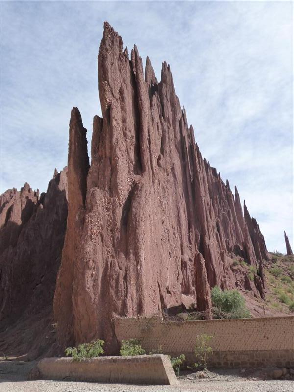 Jaggy rock formations