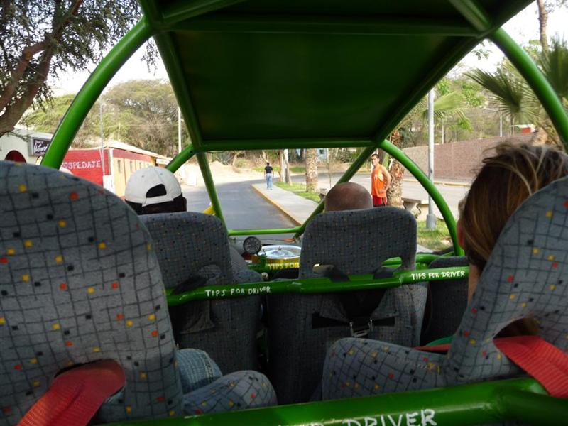 In the buggy
