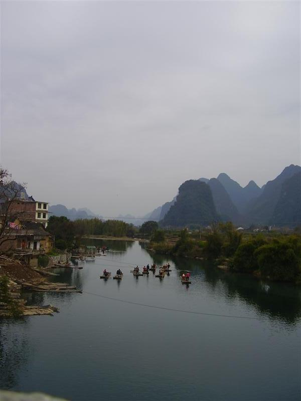 Cycle trip Yangshuo