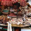 Meat at the market