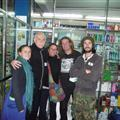 Us and the best pharmacist in Chile