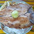 Trout. Nice food in Bolivia!