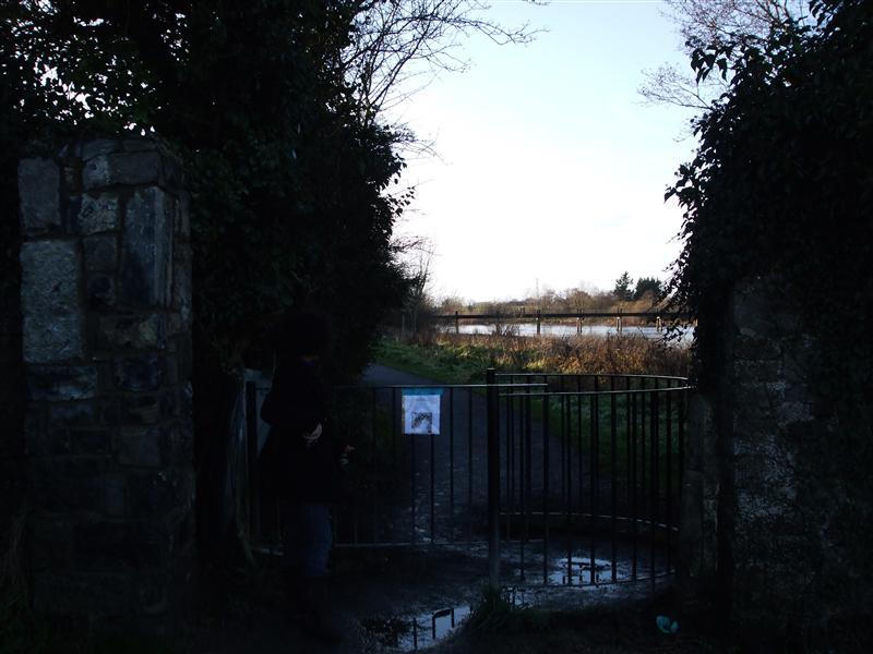 River Path Entrance