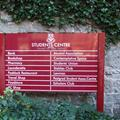 Student Centre Sign