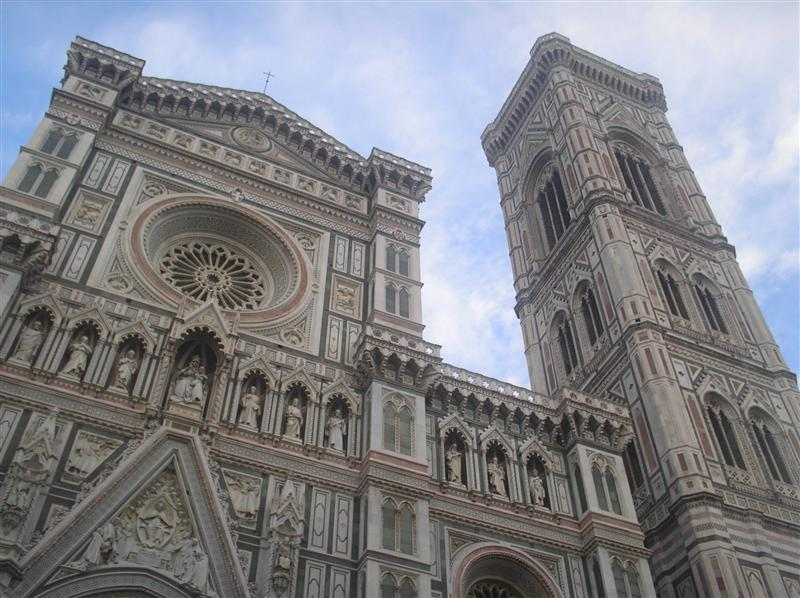the duomo, largest church in italy