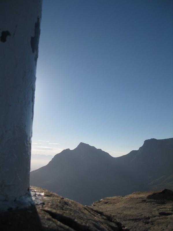 Devils Peak from Lions Head