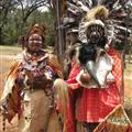 Traditional Kikuyu tribe members
