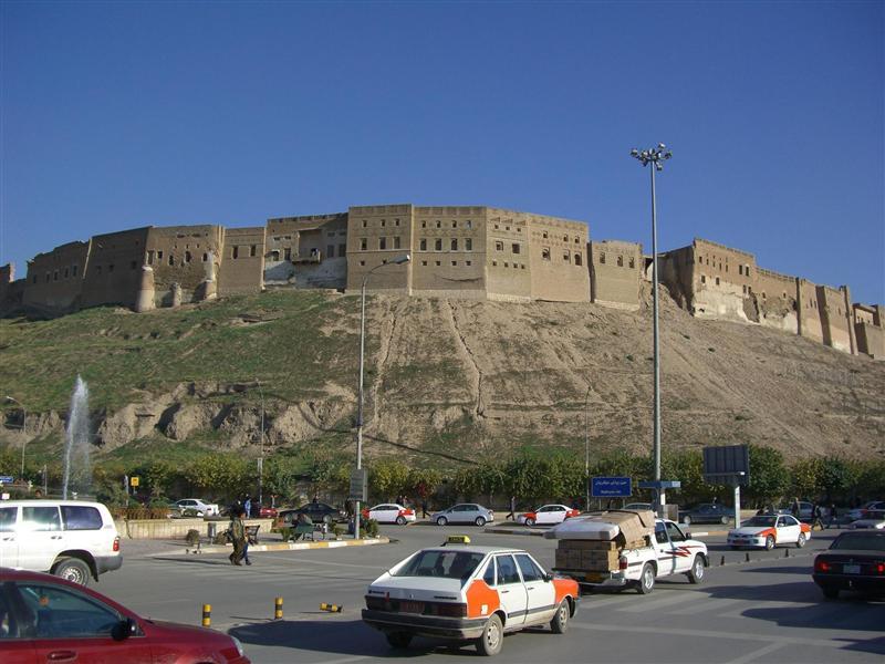 The Erbil citadel.