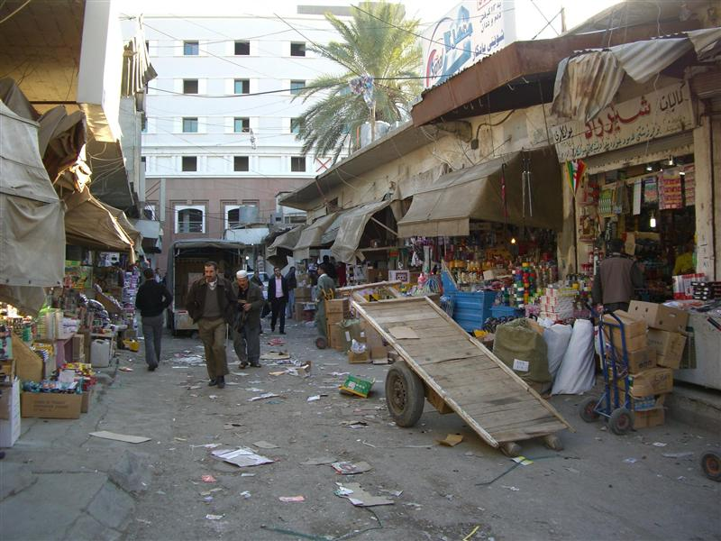 Street in Erbil.
