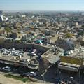 Erbil seen from the citadel.