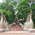 Stair way to Doi Suthep Temple