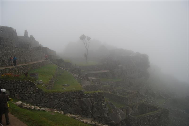 7am at Machu Picchu