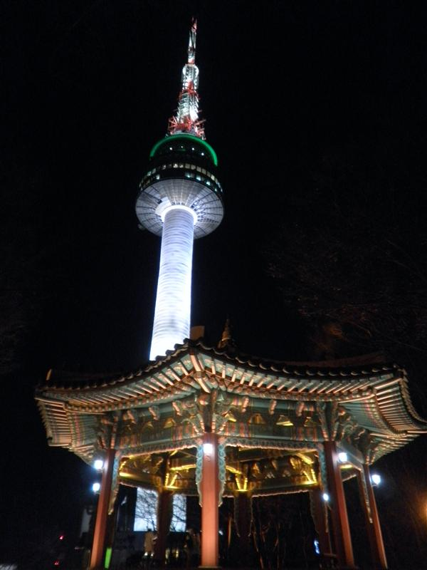 The North Tower at the top of Namsan Mountain