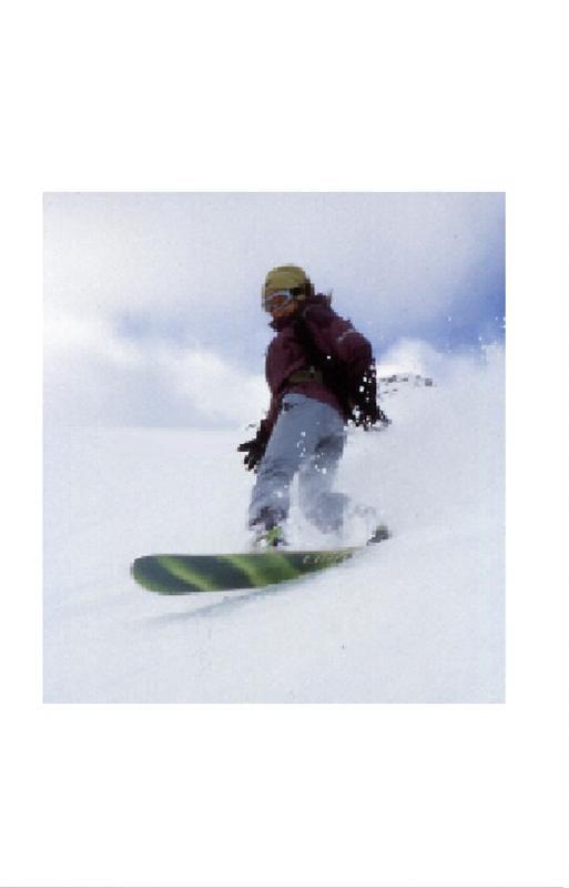 snowboard dudette